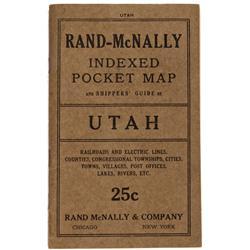 UT - 1915 - Utah Pocket Map - Gil Schmidtmann Collection