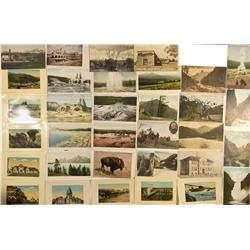 WY - Yellowstone,Yellowstone County - Postcards from Five Western States - Gil Schmidtmann Collectio