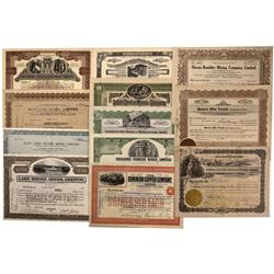 Canada, British Columbia,1907- - Canadian Mining Stock Certificate Group - Fenske Collection