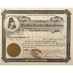 Canada, British Columbia,Kooteny District,Rossland County - 1897 - Silver King Gold Mining Company S