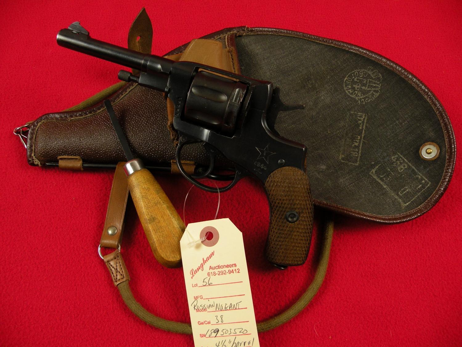 Nagant Pistol 1895 Russian 7 62 X 38R