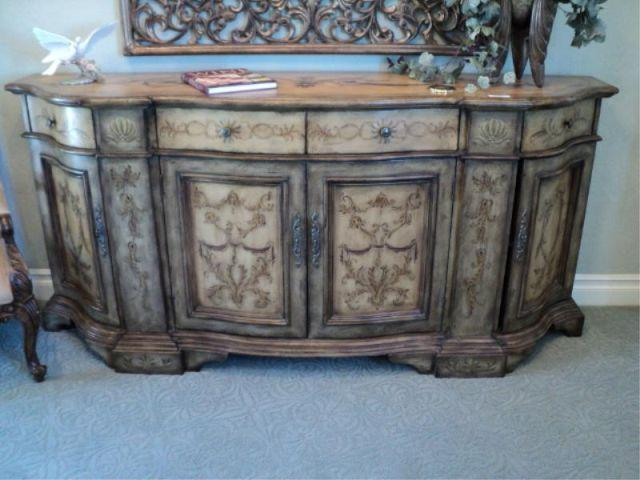 Genial Image 1 : SIDEBOARD, DISTRESSED PAINT, HOOKER FURNITURE, SEVEN SEAS {print  Sequence