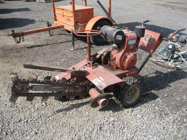 Ditch Witch C99 Walk-Behind Trencher