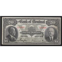 1923 Bank of Montreal $20