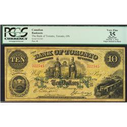 1912 Bank of Toronto $10