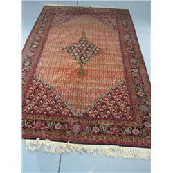 Persian handmade rug artist signed