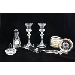Group lot of Waterford & Sevres