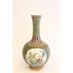 Chinese porcelain vase with Yong Zheng mark