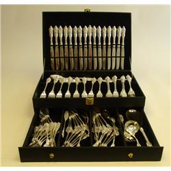 Boxed Rogers silver plated silverware set