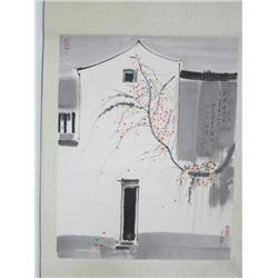 Chinese scroll by Wu Guan Zhong