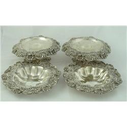 4 piece set Webb sterling silver