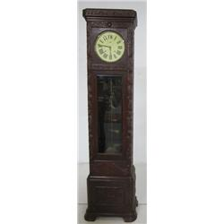 Hand carved mahogany Grandfather clock