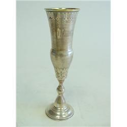 19th c. Russian silver beaker