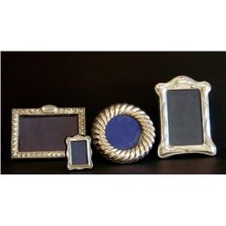 4 English sterling frames