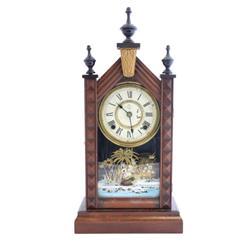 Late 19th c. Seiko steeple kitchen clock
