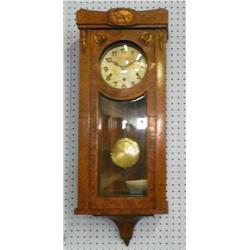 French Westminster wall clock