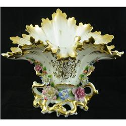 19th c. Old Paris centerpiece