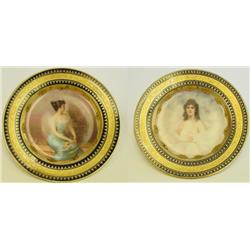 2 Royal Vienna plates