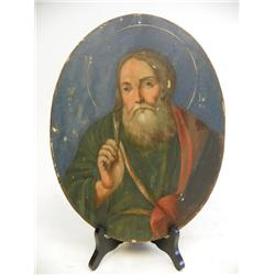 "Oval Icon of ""St. John"""