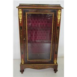 Bronze mounted French style curio
