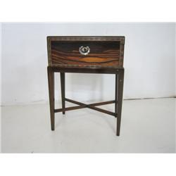 19th c. inlaid writing desk
