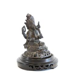 "18th c. Tibetan bronze ""Buddha"""