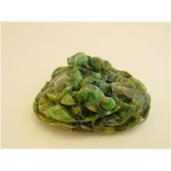 Natural jade carving