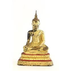 "17th c. style ""Buddha"" statue from Thailand"