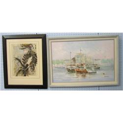 NI-Two paintings