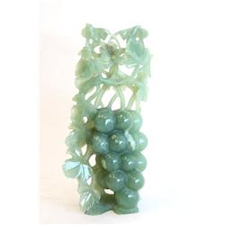 """Chinese jade carving of """"Bunch of Grapes"""""""