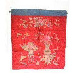 "Handmade silk of ""Flowers"""