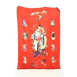 "Piece handmade silk of various ""Immortals"""