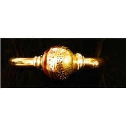 """18kt gold & enamel bracelet """"La Nouvelle Bacue"""""""