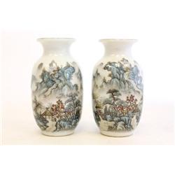 Pair of Republic Era vases