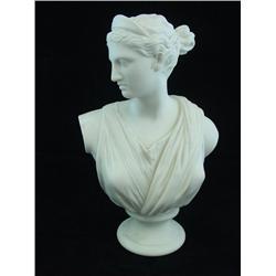 "Parienne porcelain bust of ""Grecian Woman"""
