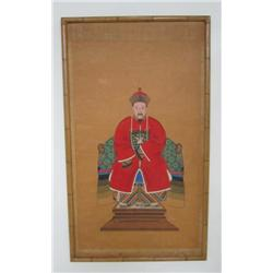 "Qing Dynasty painting of ""Emperor"""