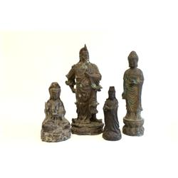 4 Chinese figures