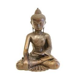 19th c. bronze Buddha