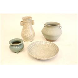 Group lot of 4 porcelains