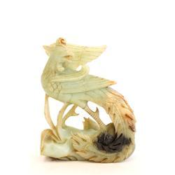 "Jade figure of ""Bird"" lucky"