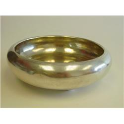 Chinese silver footed bowl