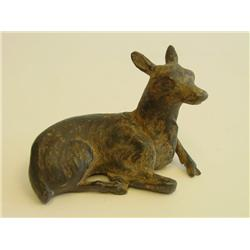 """Antique Chinese metal """"Deer"""""""