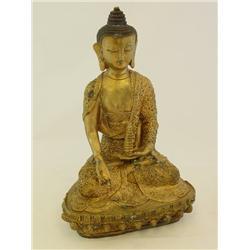 """Qing Dynasty """"Seated Guan Yin"""""""