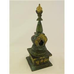 """Chinese bronze """"Memorial"""""""