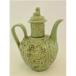 Celadon teapot Sung Dynasty style