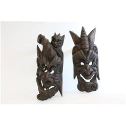 "Pair of ""Masks"""