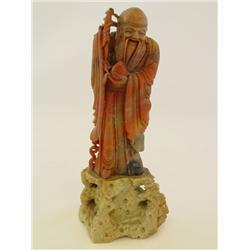 Carved stone figure Saou Xi Qong