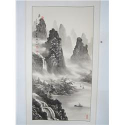 """Chinese scroll """"Landscape"""""""