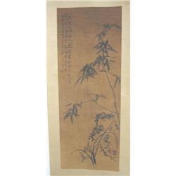 "Chinese scroll ""Bamboo"""